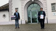 Die Grünen-Landtagsabgeordneten Toni Schuberl und Rosi Steinberger © BR/Sarah Beham